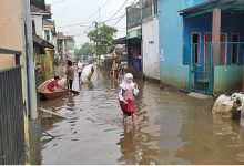 Banjir Rentan Penularan
