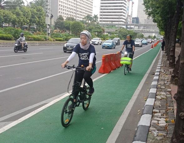 Membudayakan sepeda