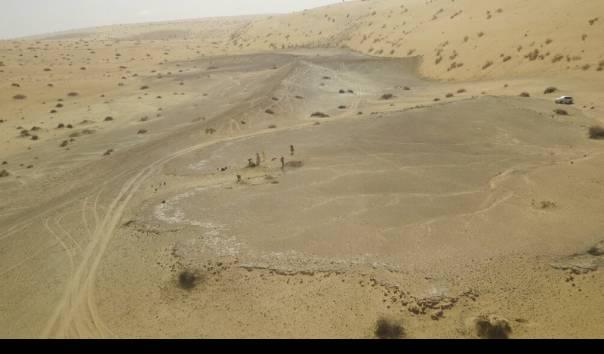 Penemuan arkeologi terbaru di utara Arab Saudi mengungkapkan bukti paling awal migrasi manusia dari benua Afrika ke Semenanjung Arab sekitar 400.000 tahun yang lalu (Sumber: Michael Petraglia/Palaeodeserts Project via AP)